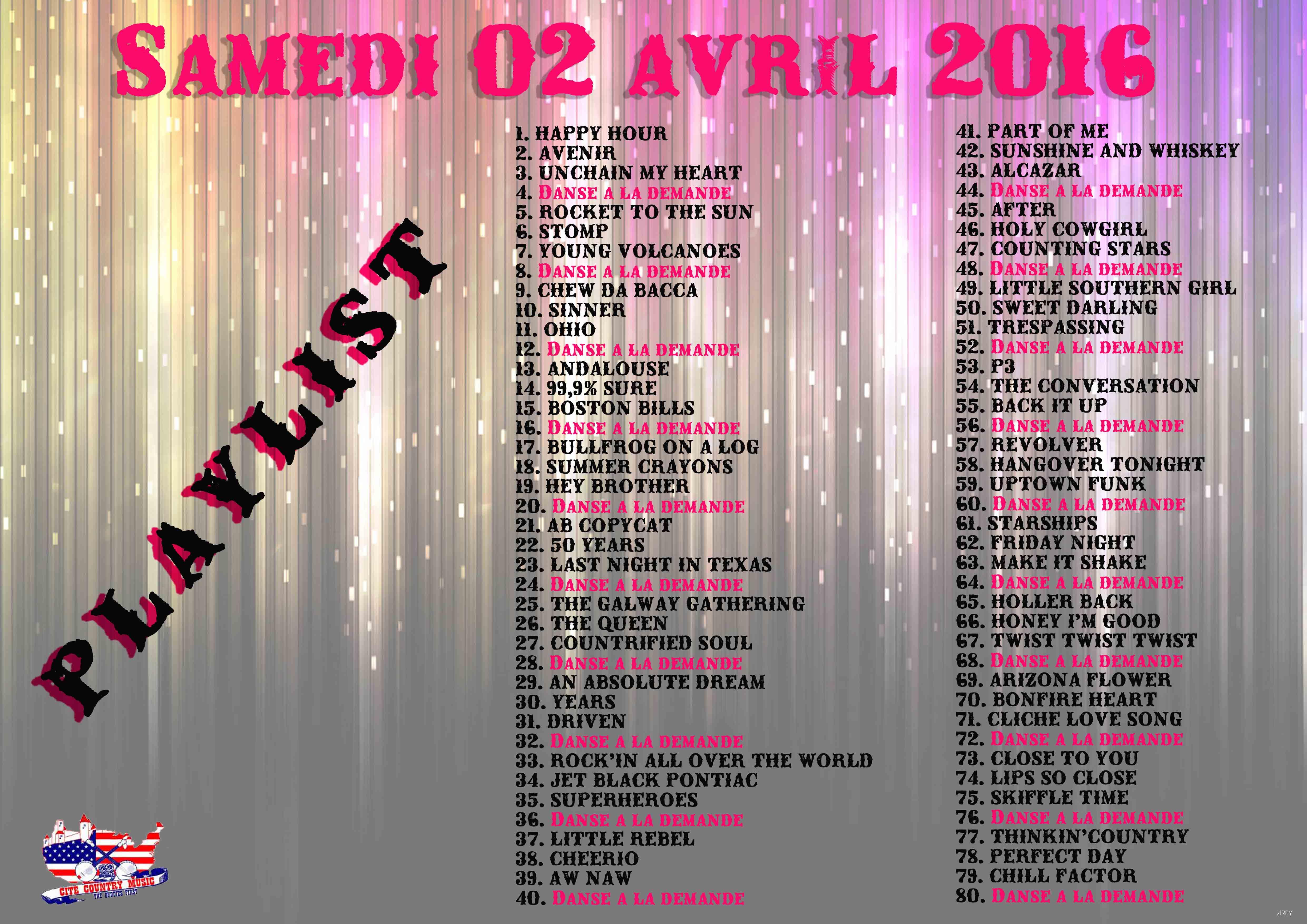 Playlist du samedi 02 avril 2016 à Trèbes (11)